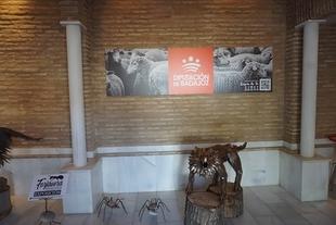 El pabellón de la Diputación de Badajoz de la Feria de Zafra cuenta con dos exposiciones sobre forja y fotografías
