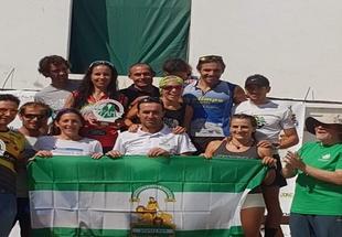 Eva Sagayo, de Fuente del Maestre, se proclamó ganadora de Selecciones de Carrera por Montañas de Andalucía