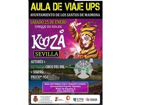 La UPS de Los Santos de Maimona organiza un viaje al Circo del Sol en Sevilla