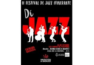 Juanlu García Quartet llega a Los Santos como parte del Festival de Jazz Itinerante de la Diputación de Badajoz