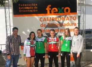 Celebrado el Campeonato de Extremadura de Orientación de Centros Escolares en Fuente del Maestre