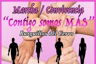 Burguillos del Cerro se tiñe de rosa con bajo el lema `Contigo somos más´