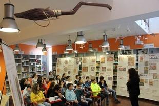 Los Santos celebra el Día de la Biblioteca con el alumnado de 2º de la ESO