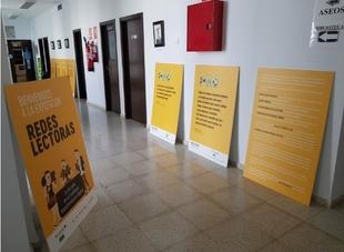 La Exposición `Redes Lectoras´ se podrá visitar en la biblioteca de Fuente del Maestre hasta mediados de noviembre