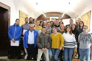 12 alumnos se han graduado en la Escuela Profesional Maimona clausurada ayer