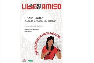 Sesión de cuentacuentos para adultos con Charo Jaular en Fuente del Maestre el próximo miércoles